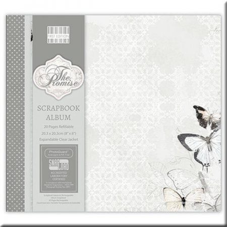 First Edition 8x8 Scrapbook Album - The Promise