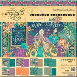 Midnight Masquerade Kit de papeles de Scrap Graphic 45