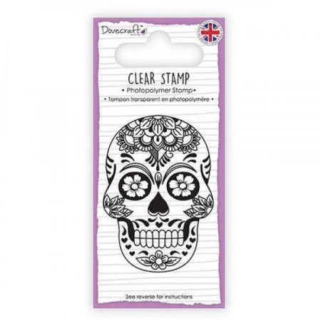 Dovecraft Clear Stamp - Skull